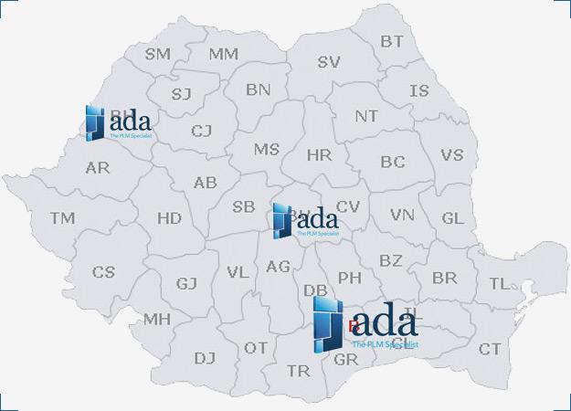 ADA Romania | puncte de lucru