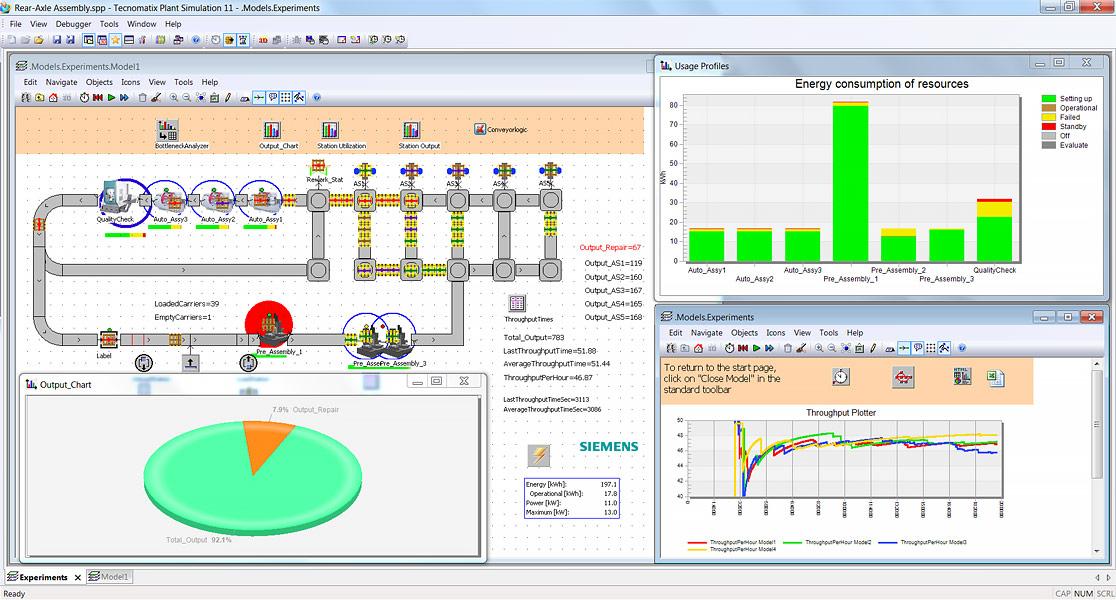 Tecnomatix | Logistica si simularea fluxului de materiale