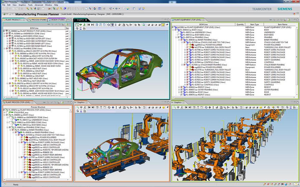 Tecnomatix | Manufacturing Process Planner
