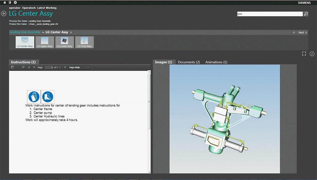 Tecnomatix | Solutia pentru instructiunile de lucru