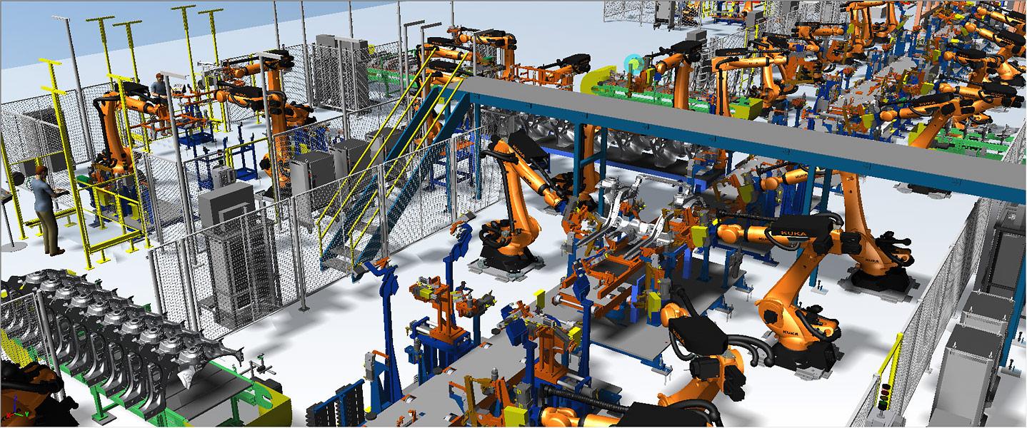 Tecnomatix | Solutii de programare si simulare robotica